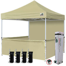 10x10 EZ Pop Up Party Wedding Tent Patio Gazebo Canopy Outdoor Trade Show Booth