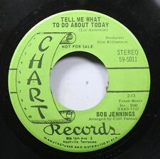 Country Promo 45 Bob Jennings - Tell Me What To Do About Today / Without You On