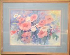 DAWNA BARTON COLOR LITHOGRAPH PROFESSIONALLY FRAMED and MATTED