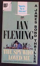 SIGNET 2733 IAN FLEMING JAMES BOND 007 THE SPY WHO LOVED ME 21st VGF+ BARYE Cvr