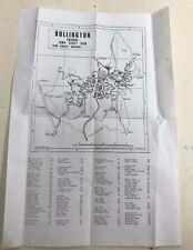 Bollington Cheshire Town Street Plan
