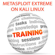 Metasploit Extreme on KALI LINUX - Video Training Tutorial DVD