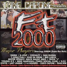Tone Capone Ft 2000 CD New Sealed