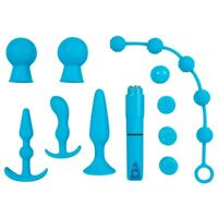 kit sex toys plug fallo e dildo anale e stimolatore clitoride Vaginale insider s