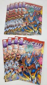 Lot of 142 WildCats Covert Action Team Image Comics - Free Shipping