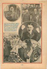 Otto Braun / André Tardieu Saint-Dizier Territoire de Belfort  1932 ILLUSTRATION