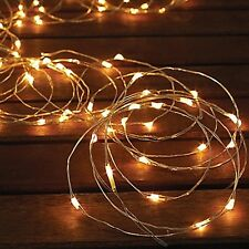 2-pack Winter Lane 10' Indoor/Outdoor Micro Led Light String, White - 7C_46a