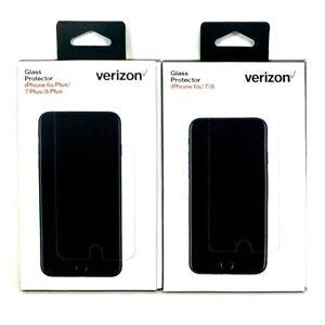 Verizon Tempered Glass Screen Protector iPhone 7 - iPhone 8 Plus - iPhone 6s