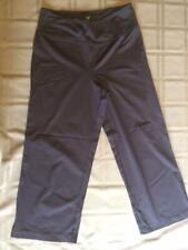 """State of Bliss"" yoga/workout/exercise capri pants Size medium (M) Black"
