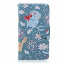 Patterned Silicone/Gel/Rubber Mobile Phone Wallet Cases