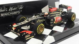 Minichamps 1/43 Scale 410 130078 - Lotus F1 Team R.Grosjean Showcar 2013