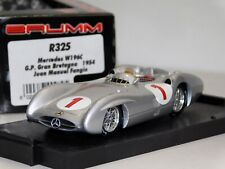 MERCEDES BENZ W196C GRAIT BRITAIN GP 1954 #1 FANGIO BRUMM R325 1:43