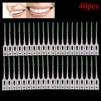 40Pcs/2Box Pro Dental Oral Care Interdental Brush Floss Toothpick Clean Tooth