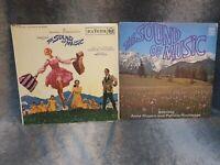 X2 The Sound Of Music Vinyl Record LP Album Musical 1966 & 1965 Bundle