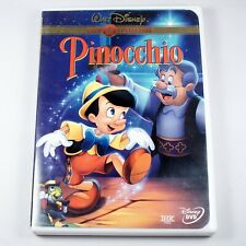 Pinocchio (Disney Gold Classic Collection Limited Issue DVD, 1999) Free Shipping
