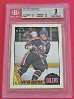 1987-88 OPC O-Pee-Chee Wayne Gretzky # 53, BGS 9 MINT w/9.5's