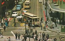 "San Francisco Postcard - ""Powell and Market Streets"" | Mirro-Krome/HS Crocker"