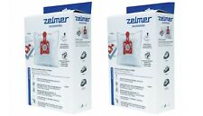 ZELMER 8 Genuine Hepa bags + 2 filters for Vc3000, Vc4000, Vc5000 models