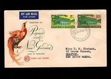 Papua & New Guinea Port Moresby 1st Day 1961 Legislative Council 5d 2/3 Cover 5l