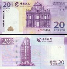 MACAO - Macau 20 patacas 2013 FDS - UNC