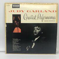 JUDY GARLAND'S GREATEST PERFORMANCES -  VINYL LP  (DECCA DL-8190) NM