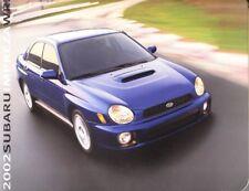 2002 02 Subaru Impreza WRX original sales brochure MINT