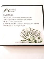 5 Cds Millionaire Mondays Volume One Real Estate Teleclass for Members