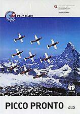 Picco Pronto (Swiss Air Force PC-7 Team (Atemberaubende Bilder der Flugshow))NEU