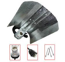 "19"" inch Hammer Wing Hydroponic Aluminum Reflector w/mogul socket 15ft cord Hook"
