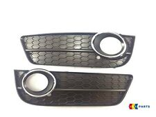 AUDI A5 2008-2012 NEW GENUINE FRONT BUMPER FOG LIGHT GRILL PAIR LEFT RIGHT
