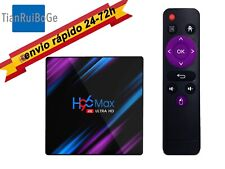 H96 Max Android 9.0 TV BOX 4gb Quad Core 4K HD 2.4G/5G WiFi BT 4.0 Media TV Caja