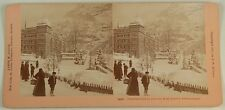 GRINDELWALD SWITZERLAND WINTER SCENE KILBURN STEREOVIEW 1901