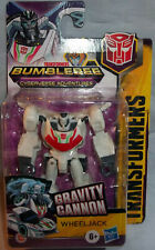Transformers Bumblebee Cyberverse Adventures Scout Class WHEELJACK! RARE! NEW!
