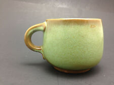 Vintage Frankoma LAZYBONES Cup #4C prairie green