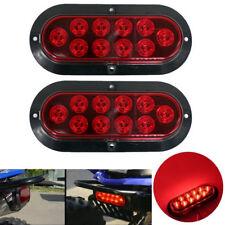 NEU 2X 10 LED Rot Bremsleuchte Bremslicht Zusatzlicht für Auto Kfz Lkw Anhänger