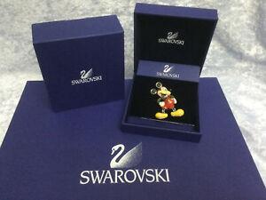 Swarovski Crystal Disney, Mickey Brooch - 1514982