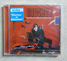 """CD AUDIO FR/ BOOCHON """"LES FEMMES PRÉFÈRENT PRENDRE LE BUS"""" NEUF CD PROMO RARE"""