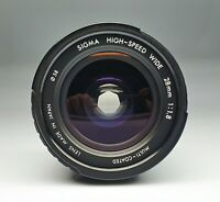 SIGMA HIGH-SPEED ASPHERICAL WIDE 28 / 1,8 for Contax / Yashca