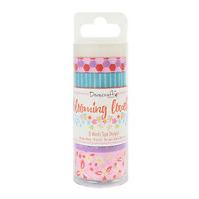 Dovecraft Blooming Lovely Washi Tape Set Embellishments for cards and crafts