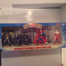 DC Super Heroes 1999 Batman & Superman Super Hero pack