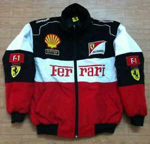 Red black Embroidery EXCLUSIVE JACKET suit F1 team racing