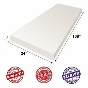 "Upholstery Visco Memory Foam Sheet 3.5lb Density - 1""H x 24""W x 108""L"