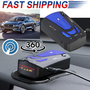 360° Car V7 GPS Speed Anti-Police Radar Detector 16Band Voice Alert Laser Device