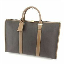 Dunhill Boston bag Grey Woman Authentic Used T7634