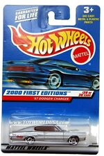 2000 Hot Wheels #88 First Edition '67 Dodge Charger 0910 crd