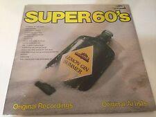 Super 60's Vinyl LP Record NEW! beach boys byrds bee gees zombies otis redding..
