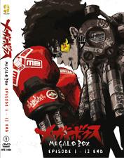 MEGALO BOX Vol.1-13 End DVD ANIME Region All English Subs + FREE DVD