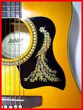 Acoustique guitare pickguard/scratchplate auto-adhésif gold phoenix design