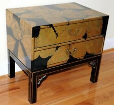 Beautiful wooden two-drawer chest