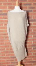 Max Studio Max Mara Beige Knit Ruched Dress Size XS / S